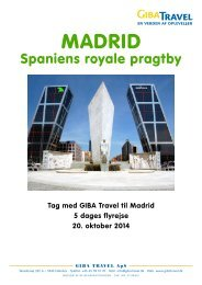 Madrid - GIBA Travel