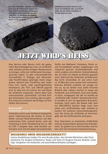 PDF Download >> Brennmaterial, Anzünden & Grillroste