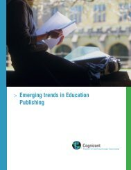 Trends in Education Publishing - Cognizant