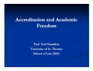 Accreditation and Academic Freedom - Council for Higher Education ...