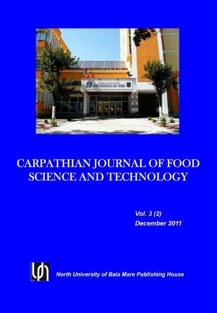 Vol 3 (2) 2011 - UBM :: Departamentul de Chimie-Biologie