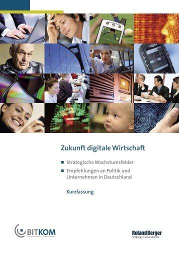 Zukunft digitale Wirtschaft