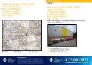 MAUN VALLEY INDUSTRIAL ESTATE JUNCTION ... - Novaloca