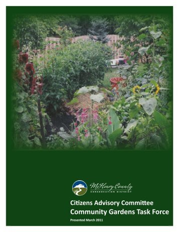 Community Gardens Task Force - McHenry County Conservation ...