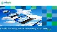 Cloud Computing Market in Germany 2014-2018