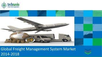 Global Freight Management System Market 2014-2018
