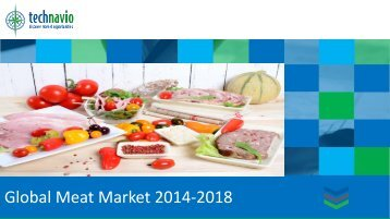 Global Meat Market 2014-2018