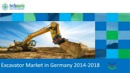 Excavator Market in Germany 2014-2018