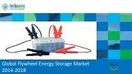 Global Flywheel Energy Storage Market 2014-2018
