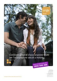 Condizioni generali d'assicurazione - smile.direct versicherungen