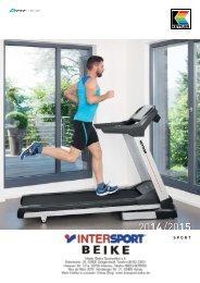 Fitness-Geräte von Kettler 2014 / 2015 bei Intersport Beike
