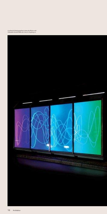 Komposition aus leuchtenden Farben - Designpanel