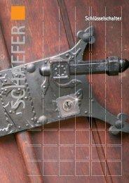 Elektronischer Schlüsselschalter ES 42 - SCHAEFER