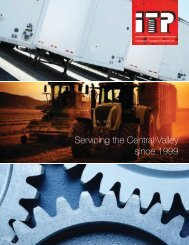 ITP Fresno Brochure - Industrial Threaded Products, Inc.