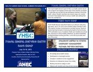 July 15-19, 2013 - Eastern Area Health Education Center - East ...