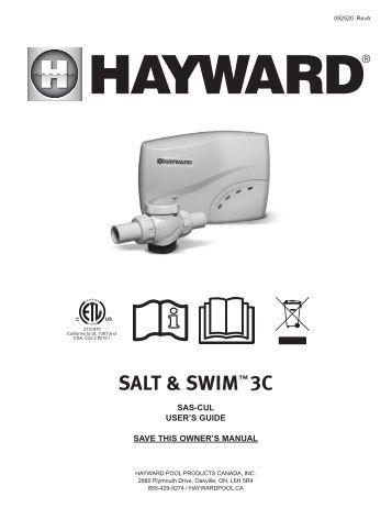 hayward aqua trol manuels