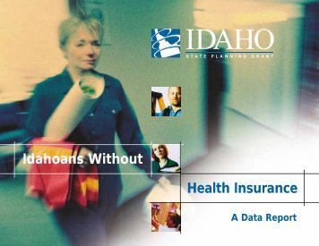 Idahoans Without Health Insurance - State Coverage Initiatives