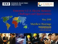 Rising Electricity Costs: A Challenge For Consumers ... - Carilec
