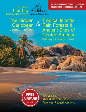 tropical islands, rain forests & ancient sites of central america