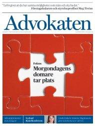 Nummer 4 2012 som pdf. - Advokatsamfundet