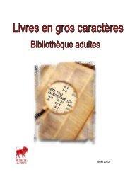 gros caractères 0710 - Médiathèque de Rillieux-la-Pape