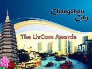 Changzhou City, PR China - Livcom Awards