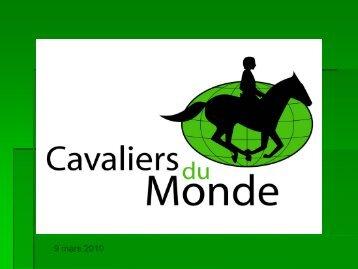 Les Cavaliers du Monde - Atout France