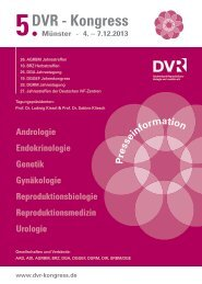Pressemappe - 5. DVR Kongress Münster 2013