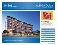 Activity Guide - Wyndham Vacation Resorts