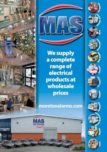 Catalogue Download - MAS (Moreton Alarm Supplies)