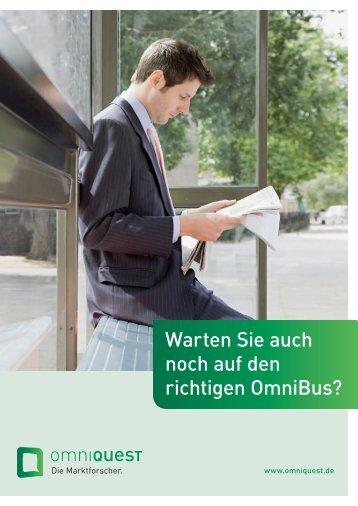 Warten Sie auch noch auf den richtigen OmniBus? - OmniQuest
