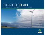 Strategic Plan for 2011-2014 - Richland Community College