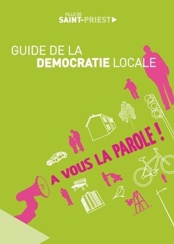 Guide de la démocratie locale - Saint-Priest