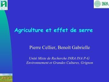Agriculture et effet de serre