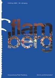 Gesamtausgabe flamberg Frühling 1/2008 Bildschirm - Pfadi Flamberg