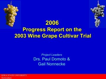 Presentation - Viticulture Iowa State University