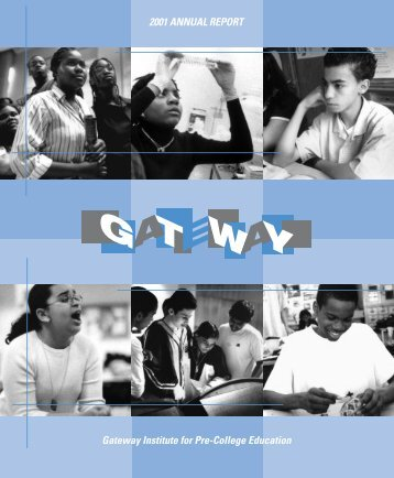 ARC - Gateway Institute for Pre-College Education - CUNY