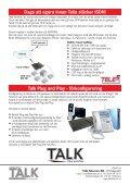 Talk for you 7 - 2009 // Senaste nytt om SIP och IP-telefoni - Page 4