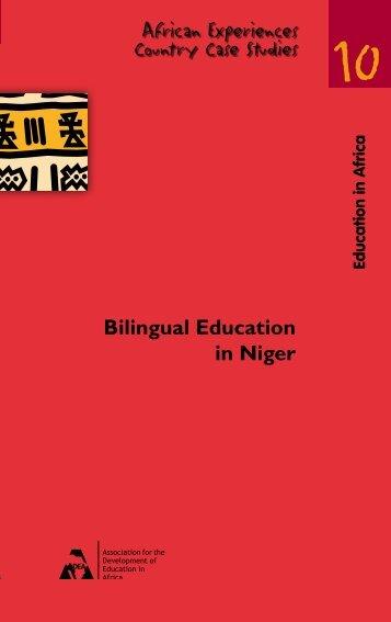 Bilingual Education in Niger - ADEA