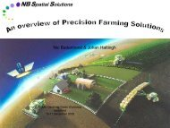 Remote Sensing and GIS application in Precision ... - Swaziland