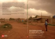 Southern Sudan at oddS with itSelf - London School of Economics ...