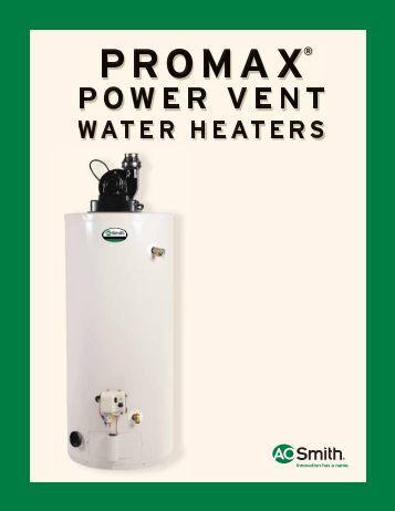ao smith water heater manual