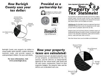 How your property taxes are calculated - Burleigh County
