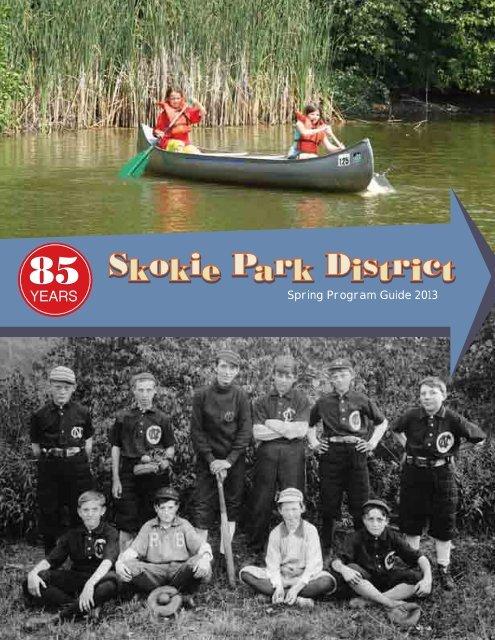 spring program guide 2013 skokie park district yumpu