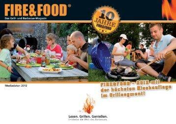 FIRE&FOOD Mediadaten downloaden