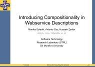 Compositional - Sites personnels de TELECOM ParisTech