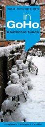 inGoHo Gostenhof Guide · Herbst Winter 2014|15