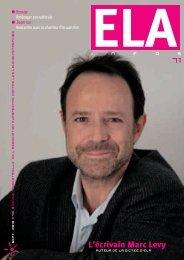 ELA Infos n°71 – septembre 2010