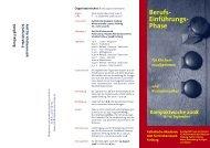 Berufs- Einführungs- Phase - Amt für Kirchenmusik