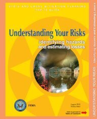 Understanding Your Risks - Bureau of Homeland Security